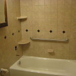 Thornton Bathroom Remodel with wall tile & floor tile